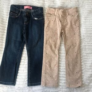 H&M / Old Navy Toddler girl pant combo - 3T